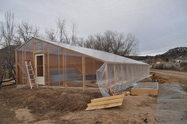 Solar Greenhouse At Adobe House Farm